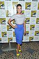 lea michele glee cast hits comic con 2012 03