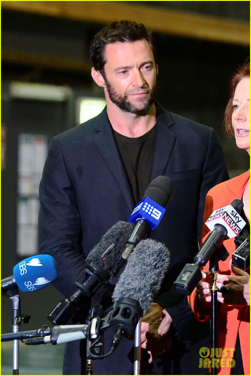 hugh jackman wolverine press conference 08