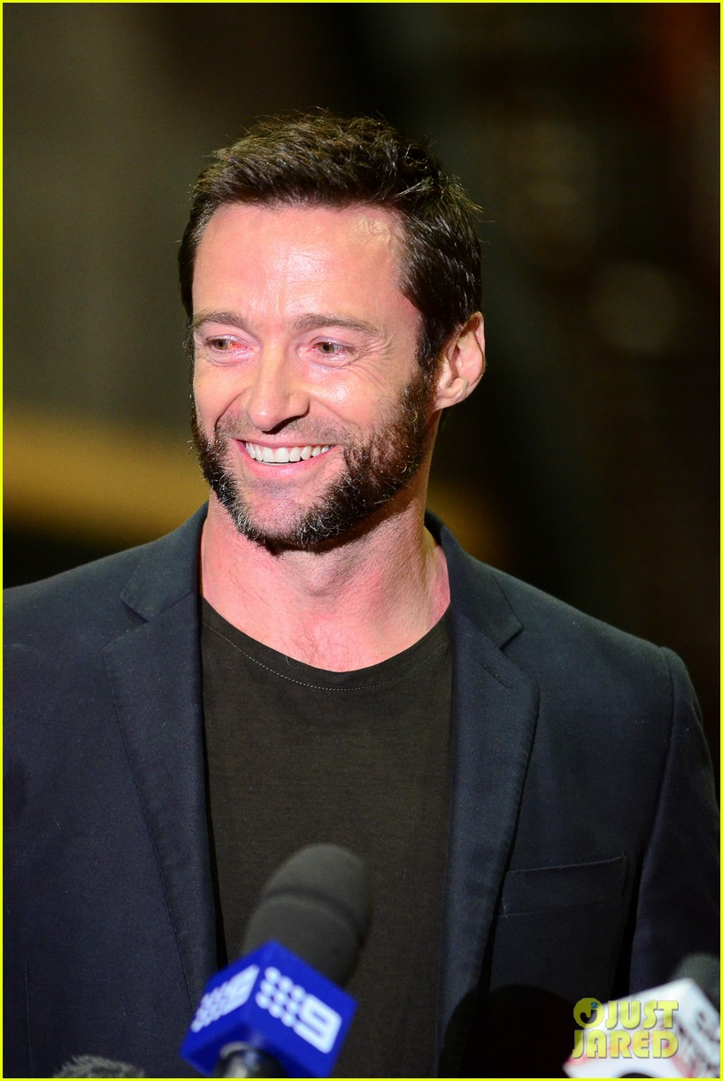 hugh jackman wolverine press conference 16