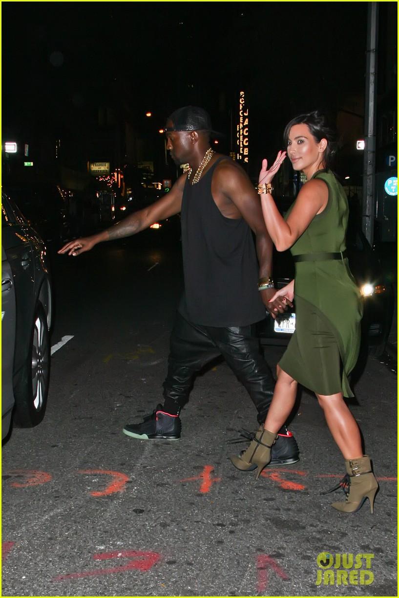 kim kardashian kanye west fela date 03