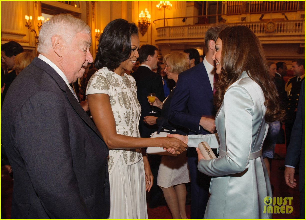 duchess kate michelle obama heads of state reception 04
