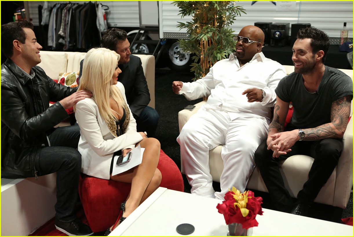 adam levin cee lo green voice season 3 exclusive pic 05