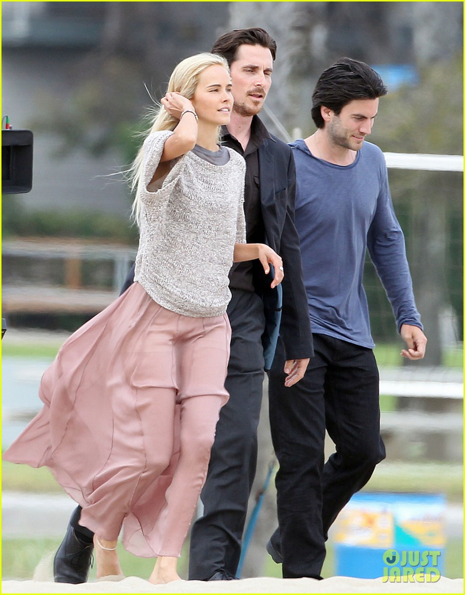 isabel lucas knight of cups filming 02