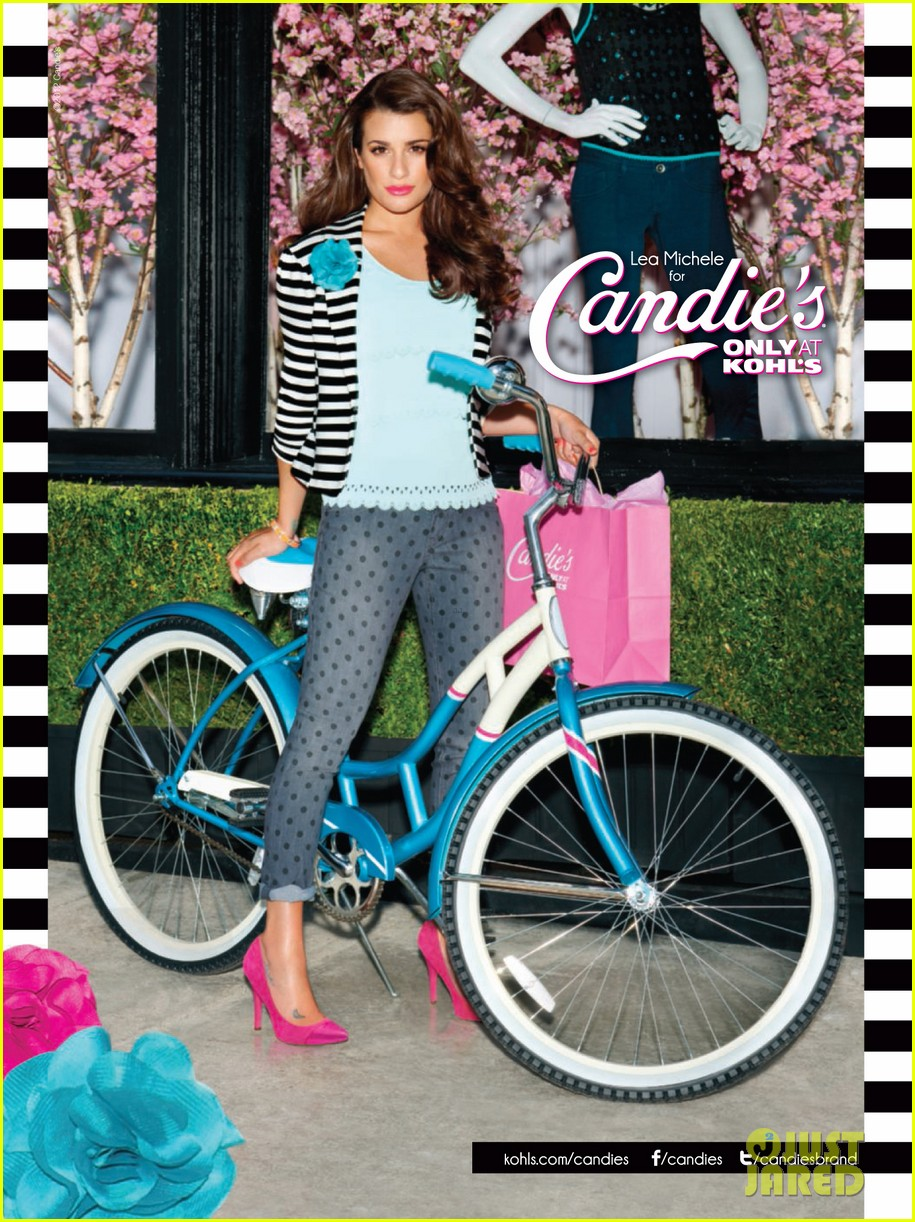 lea michele candies campaign 032685822