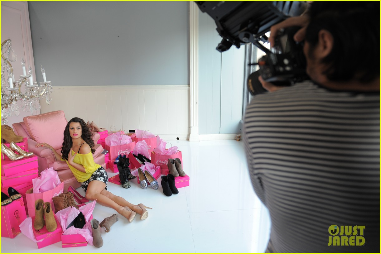 lea michele candies campaign 072685826