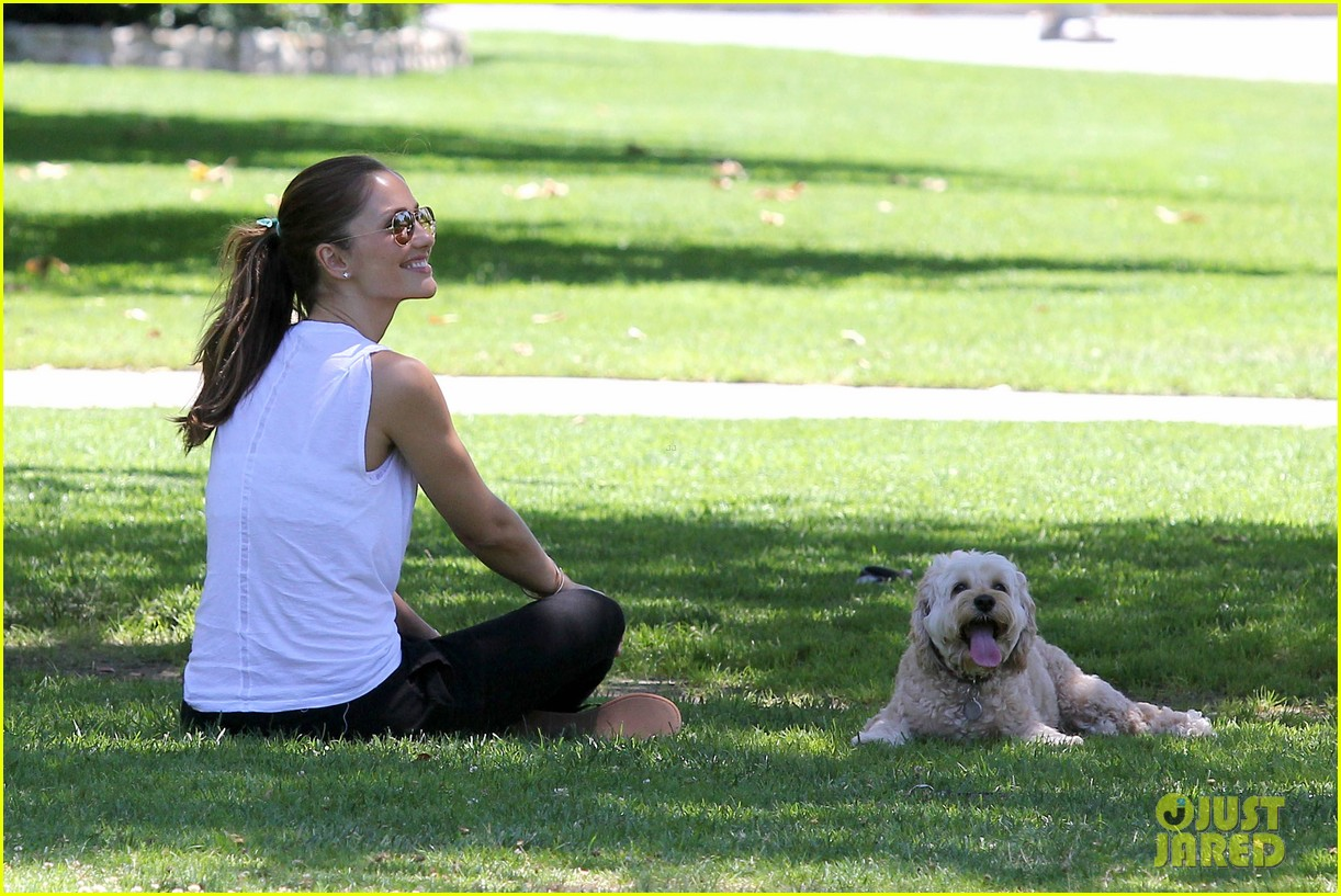 minka kelly chewy playing in the park 042689965