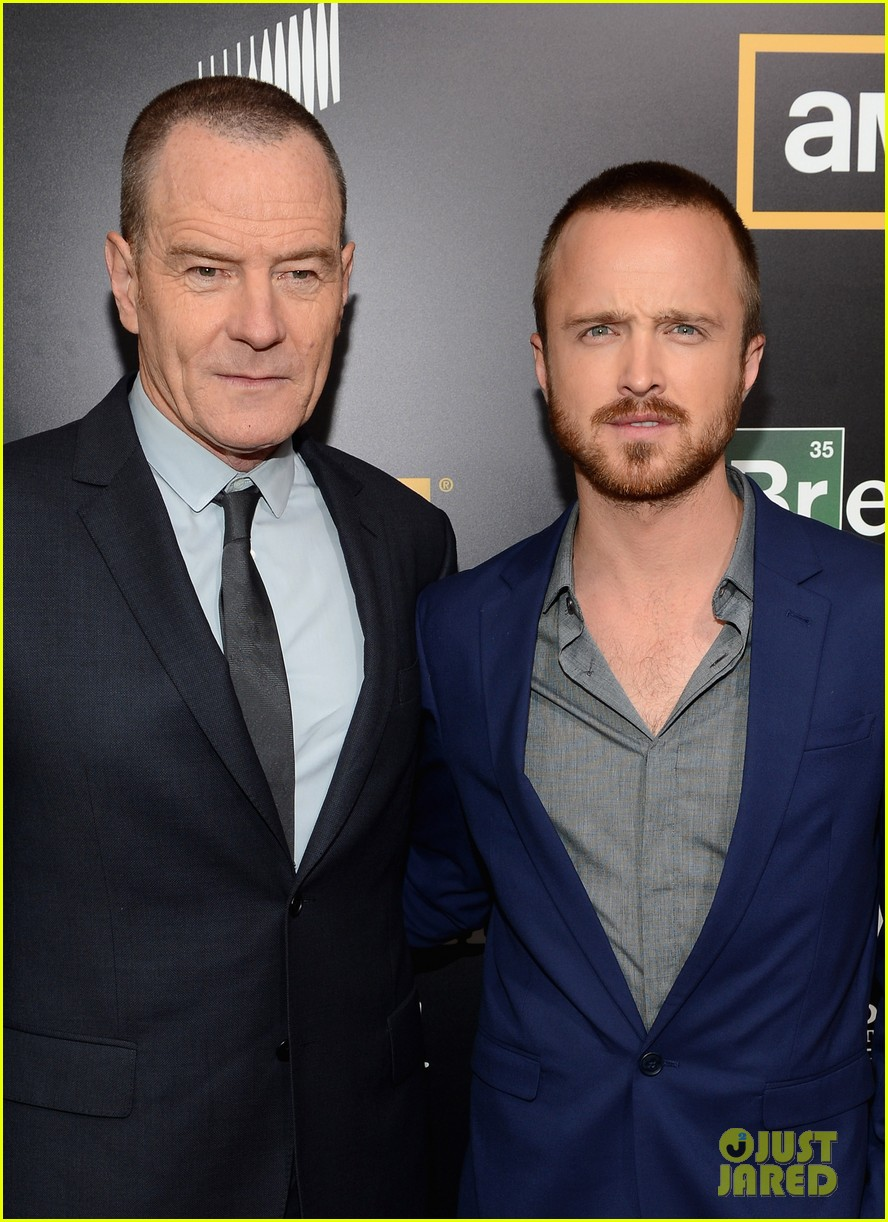 aaron paul bryan cranston breaking bad premiere 21