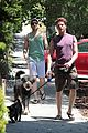 zachary quinto walking dogs 10