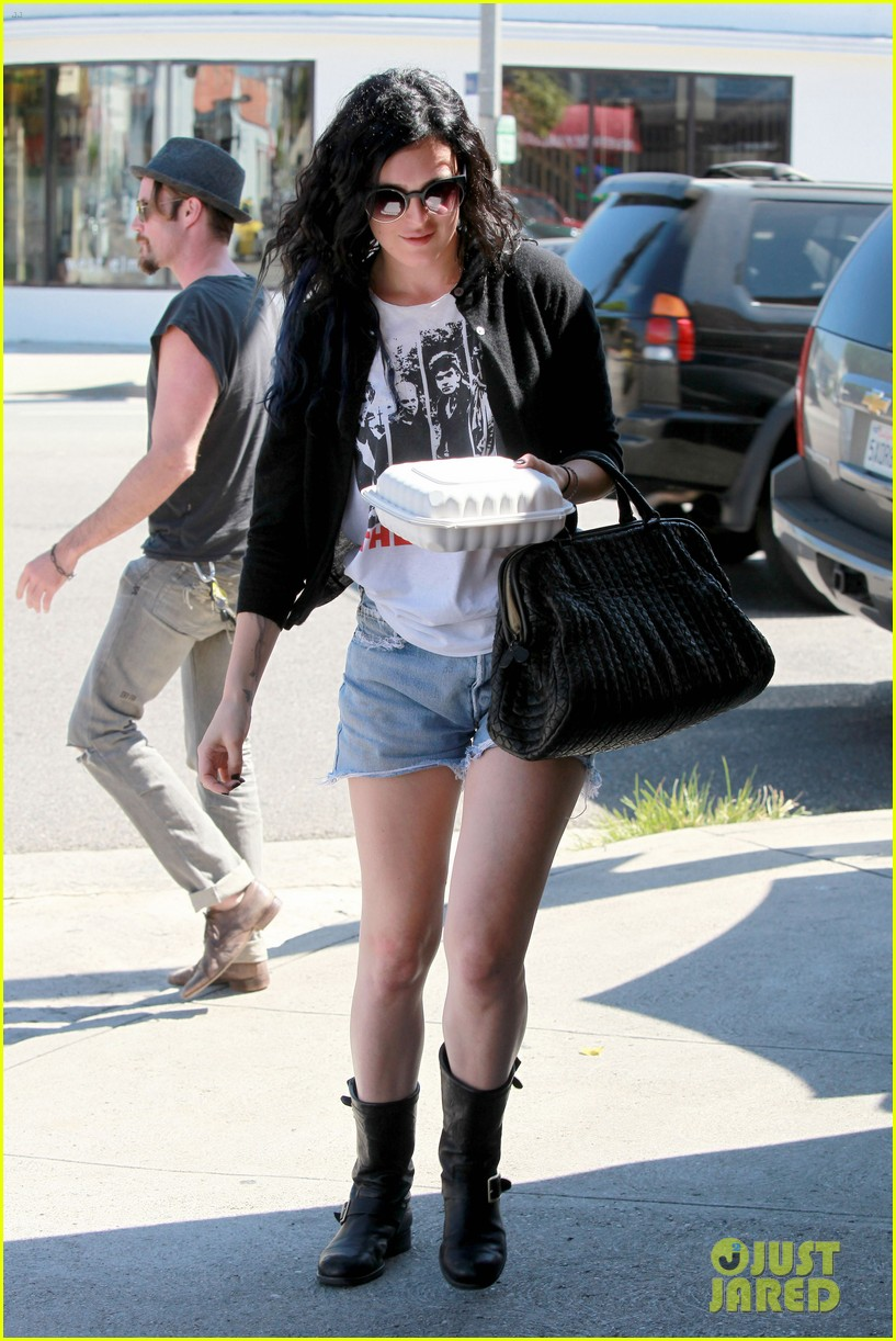 rumer willis kings road cafe lunch 05