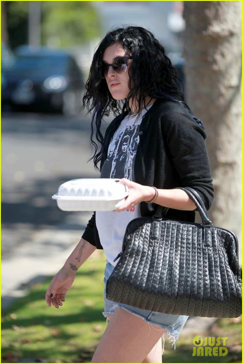 rumer willis kings road cafe lunch 12
