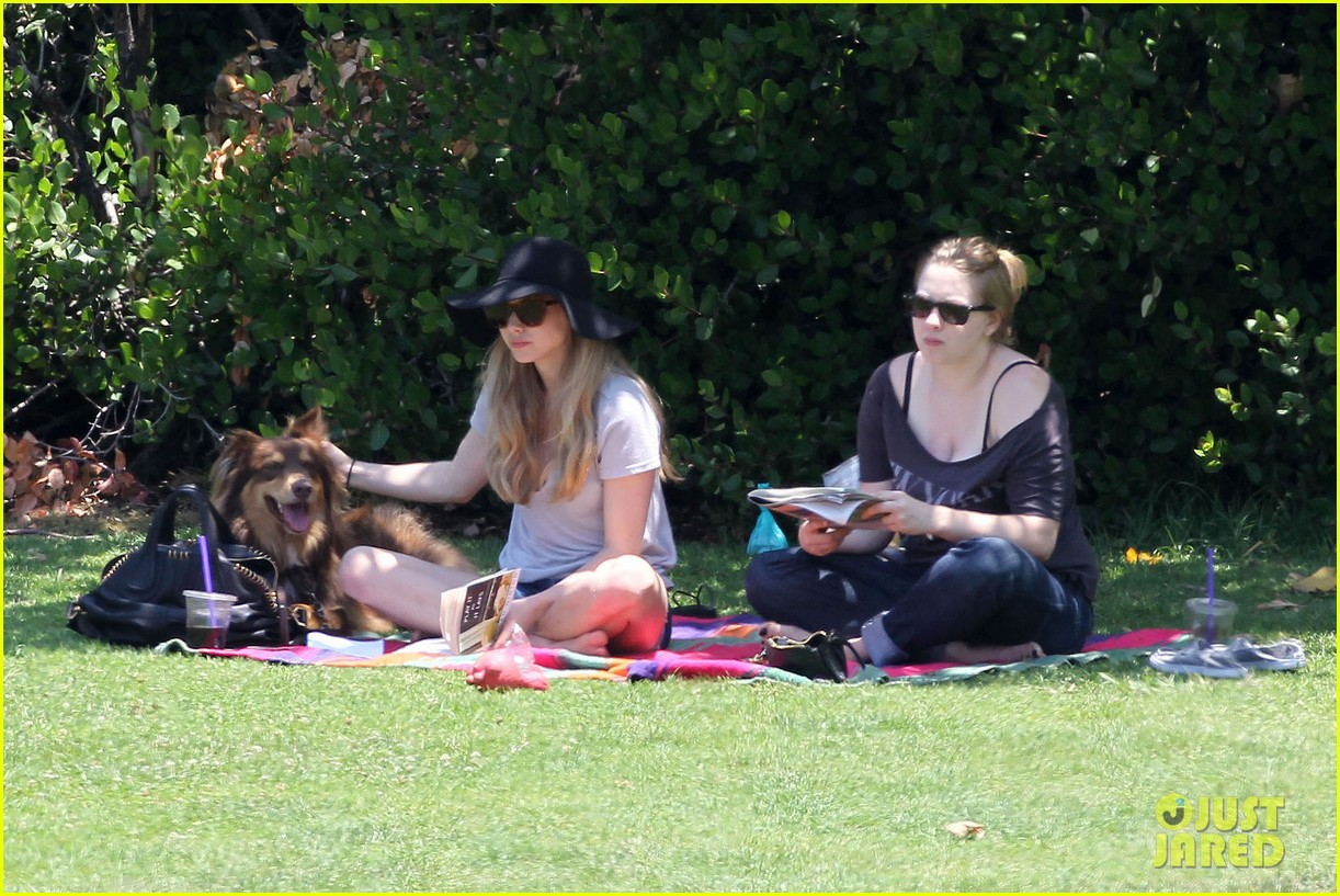 amanda seyfried park with flynn 022682812