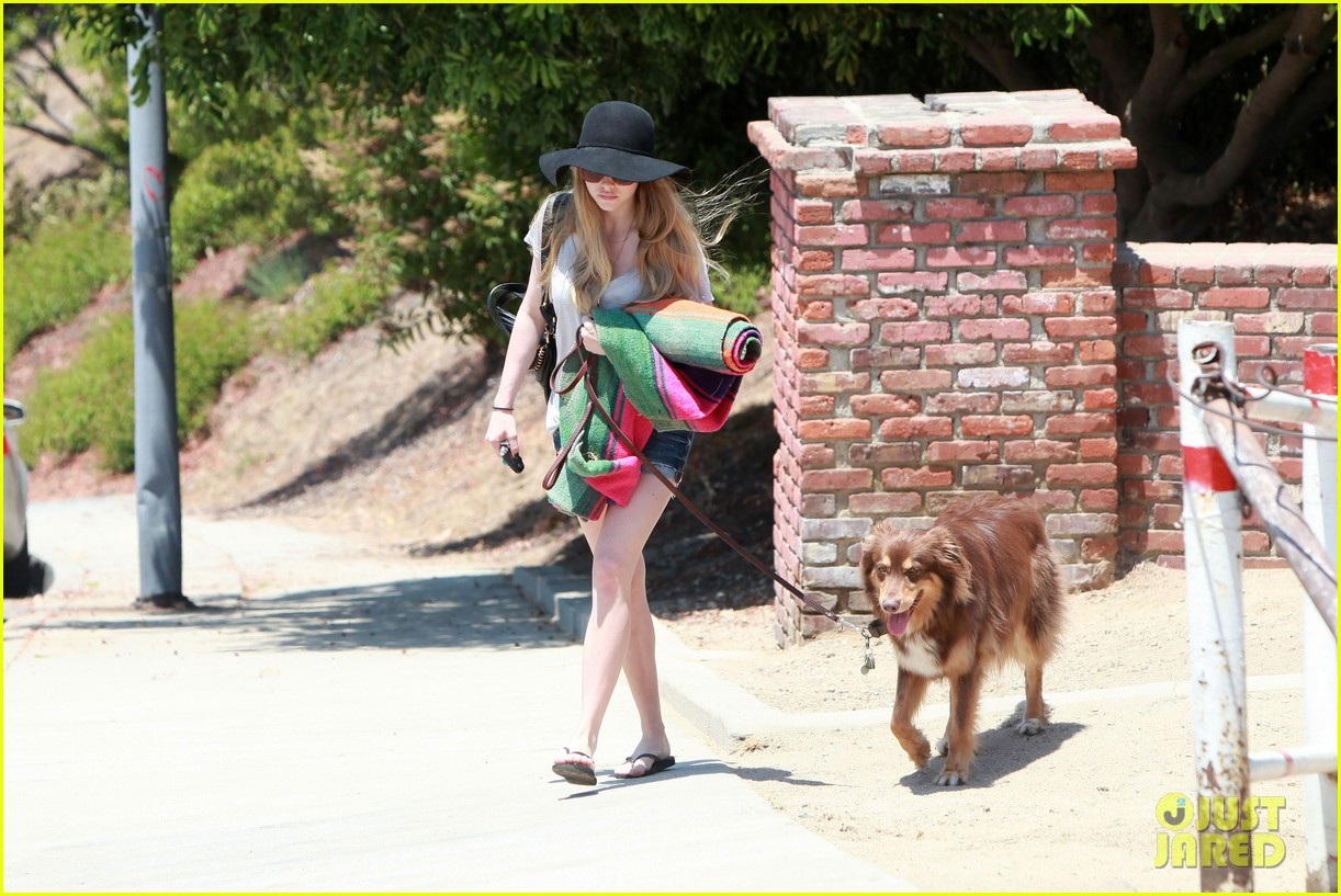 amanda seyfried park with flynn 13
