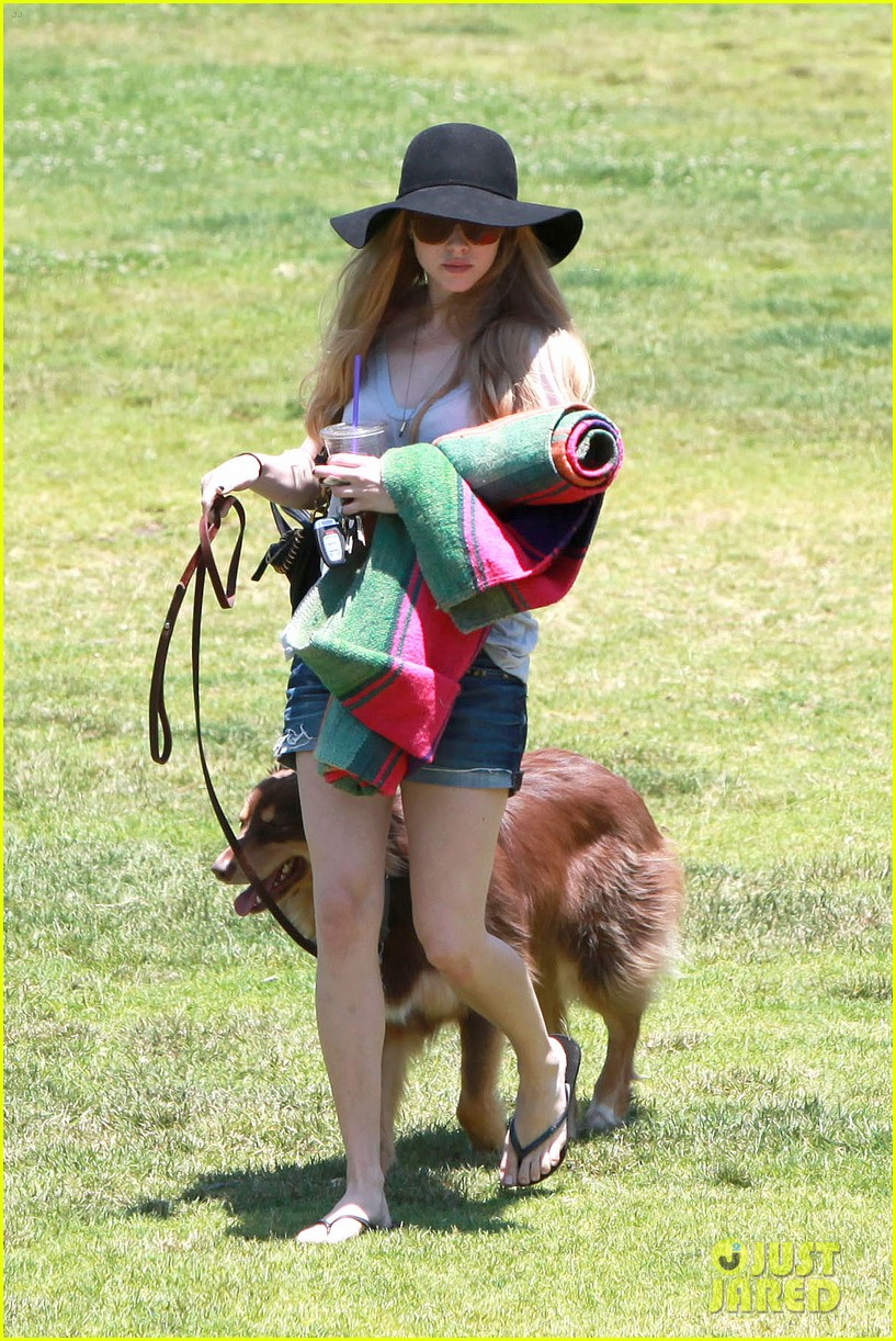 amanda seyfried park with flynn 17