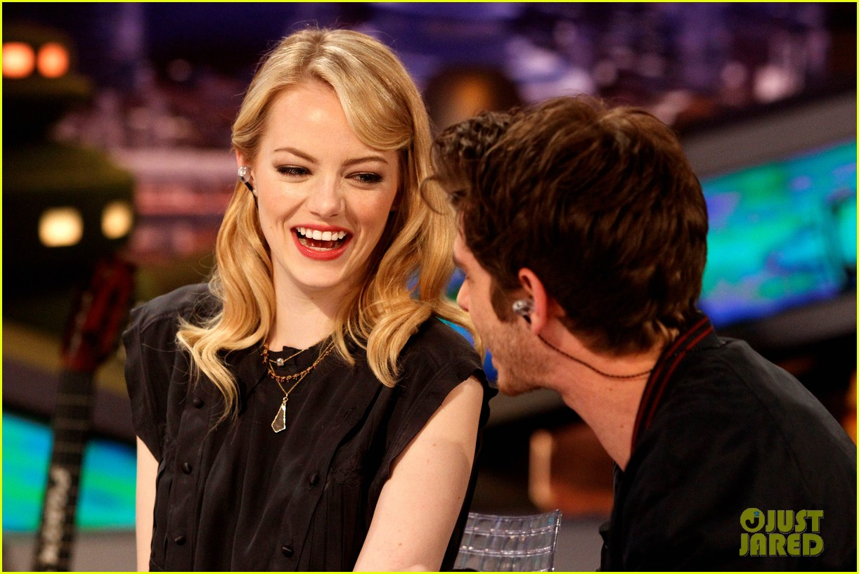 emma stone andrew garfield spider man tops july 4th 07