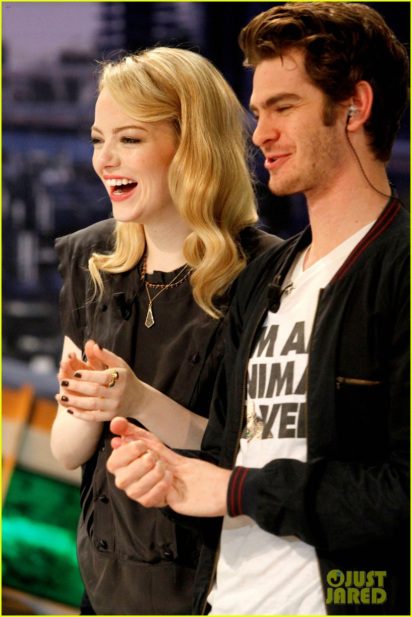 emma stone andrew garfield spider man tops july 4th 22