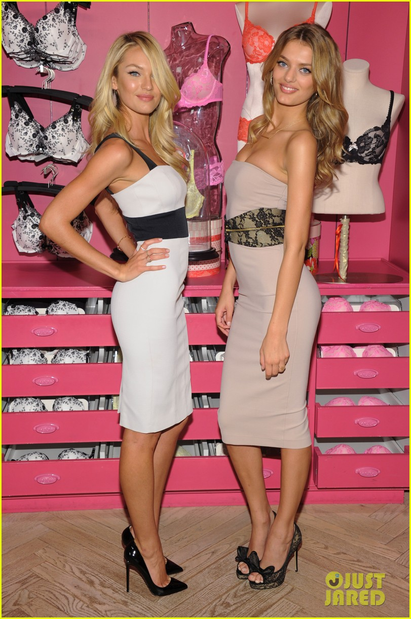 candice swanepoel body by victoria launch 01
