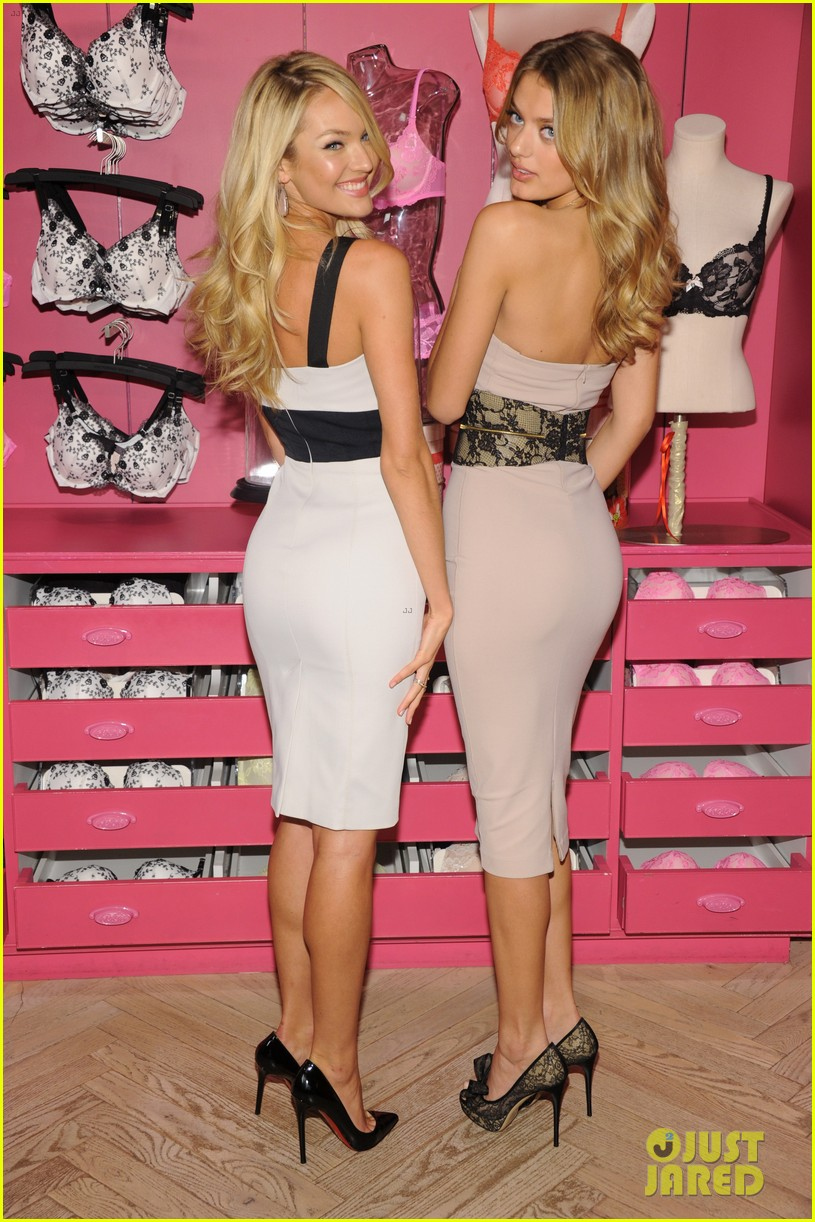 candice swanepoel body by victoria launch 10