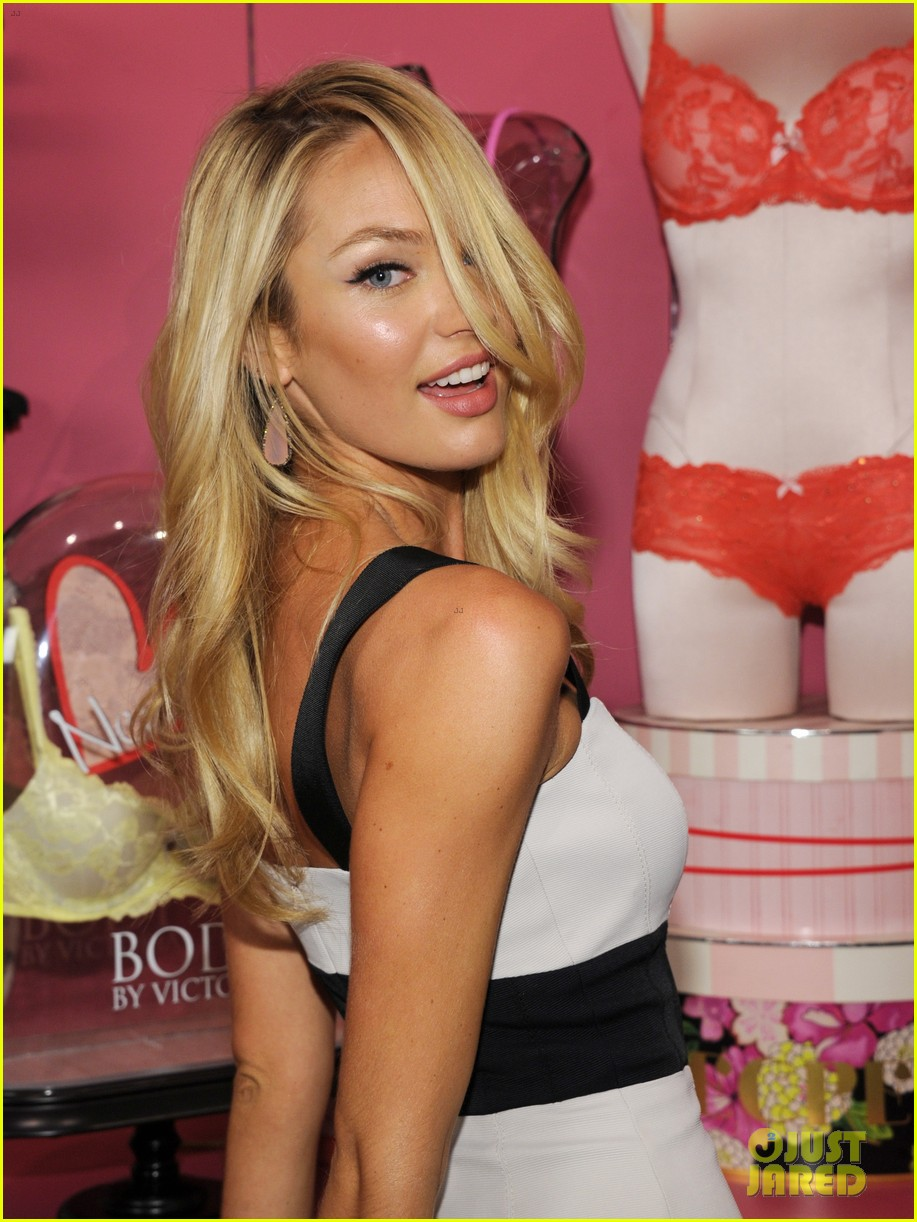 candice swanepoel body by victoria launch 272694908