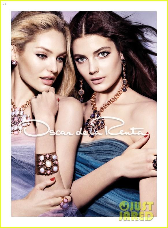 candice swanepoel oscar de la renta fall 2012 campaign 032694723