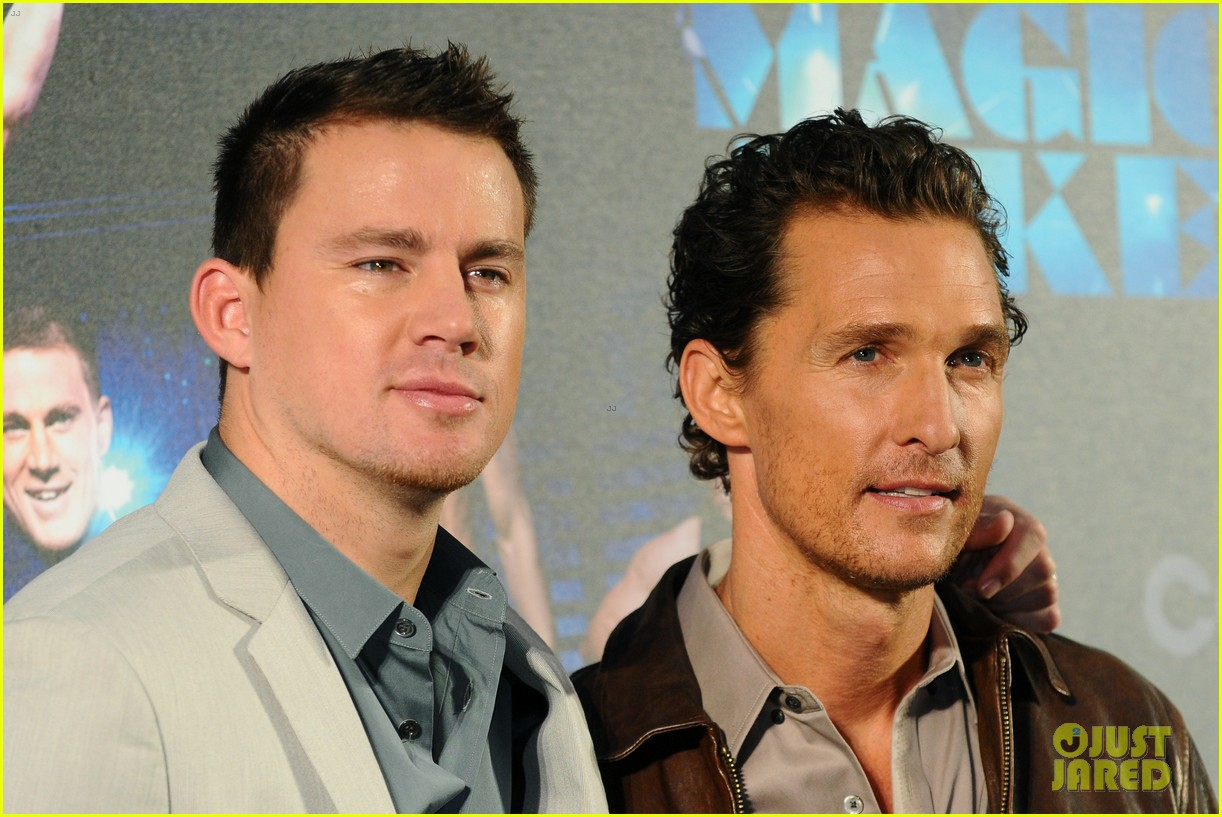 channing tatum matthew mcconaughey magic mike germany photo call 042686277