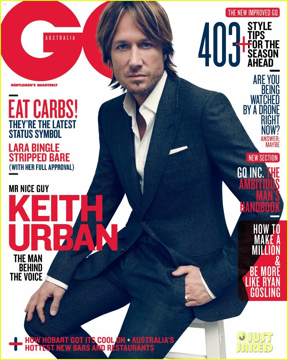 Keith Urban Covers gq