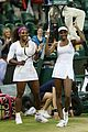 venus serena williams win wimbledon doubles crown 06
