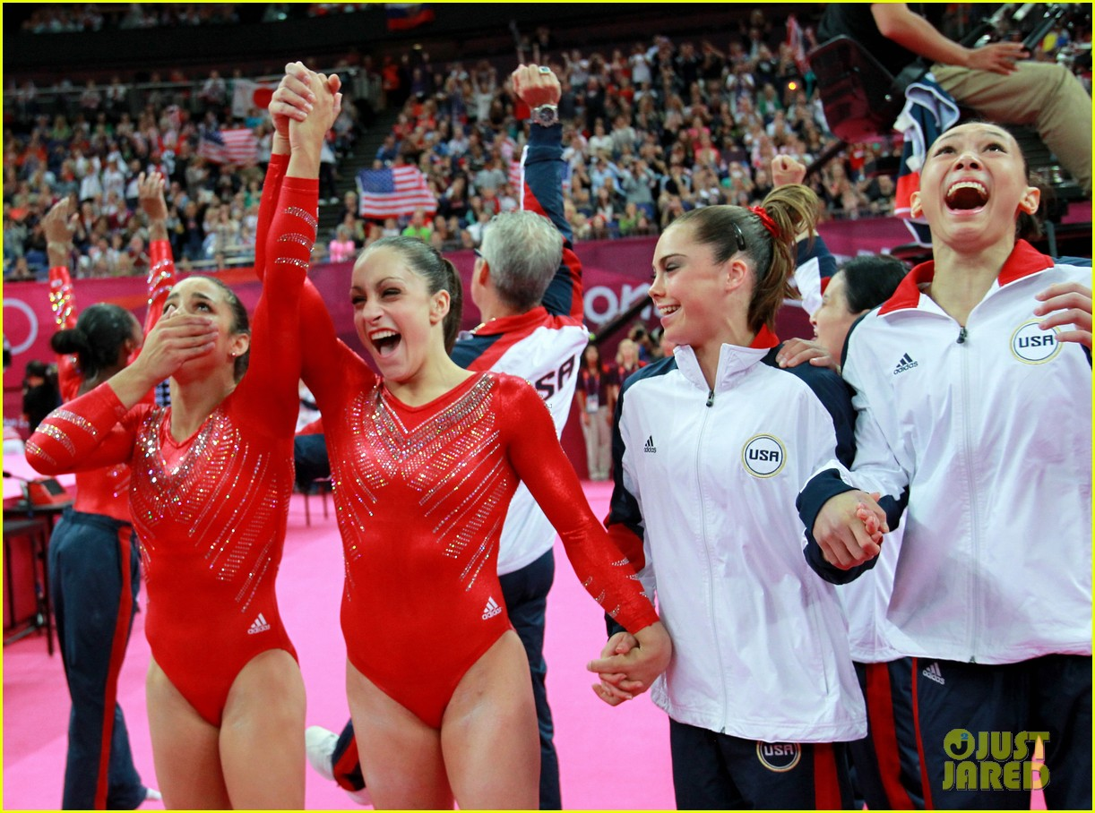 us womens gymnastics team wins gold medal 27