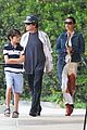 catherine zeta jones lunch with michael and dylan 01