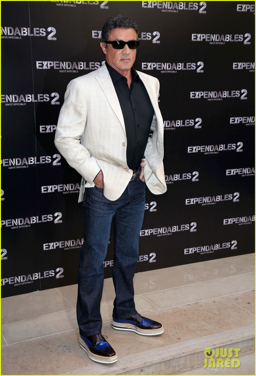 arnold schwarzenegger sylvester stallon expendables 2 paris photo call 122699661