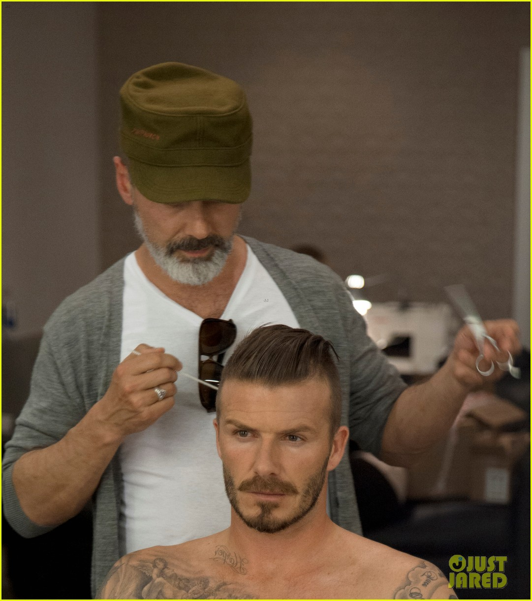 shirtless david beckham bodywear campaign images 062703310