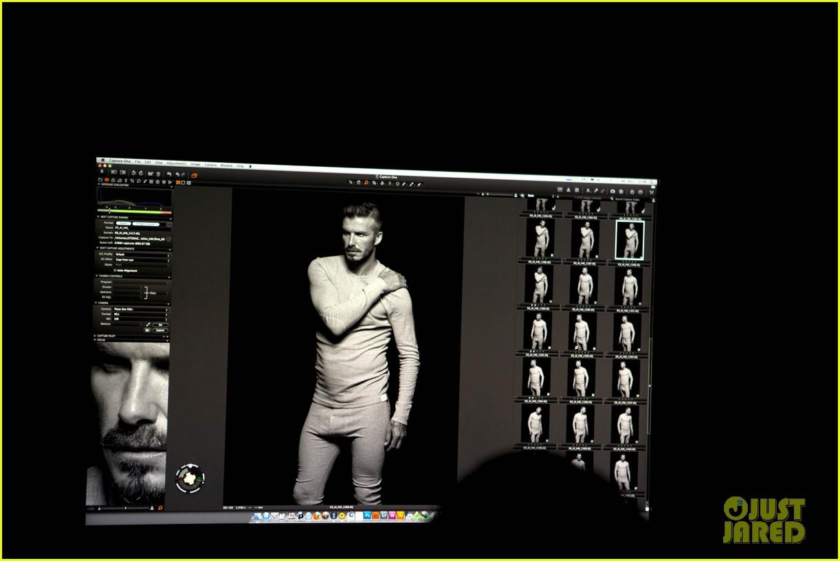 shirtless david beckham bodywear campaign images 11