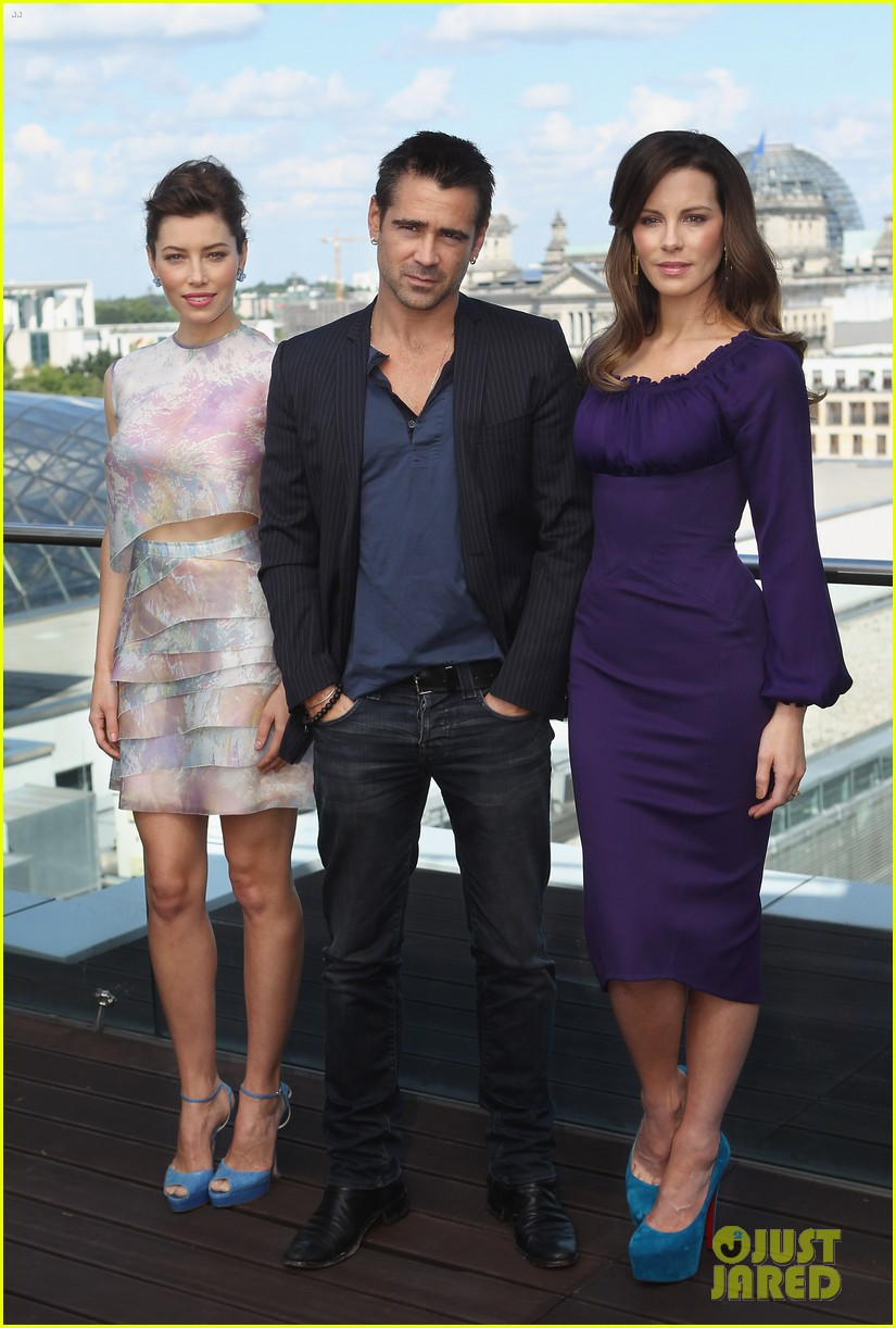 jessica biel kate beckinsale total recall berlin photo call 11