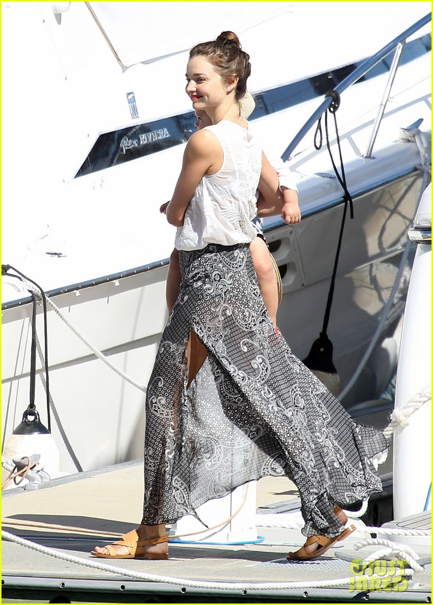 miranda kerr orlando bloom yachting 02