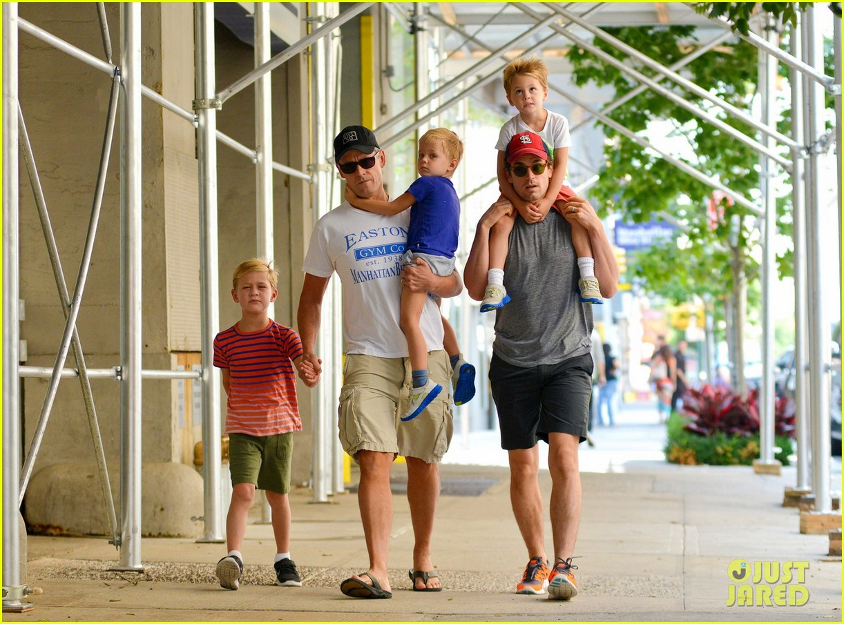 Matt Bomer and Family