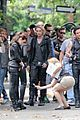 lily collins jamie campbell bower mortal instruments set 17