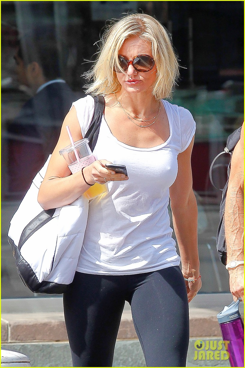 cameron diaz fitness fun in big apple 08