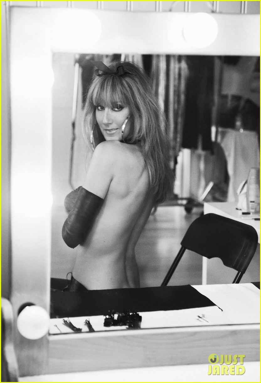 celine dion topless for v magazine 03