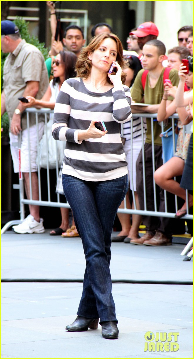tina fey 30 rock filming 042710343