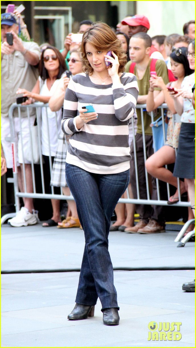 tina fey 30 rock filming 08
