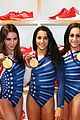 fab five celebrate olympic medals at adidas lounge 26