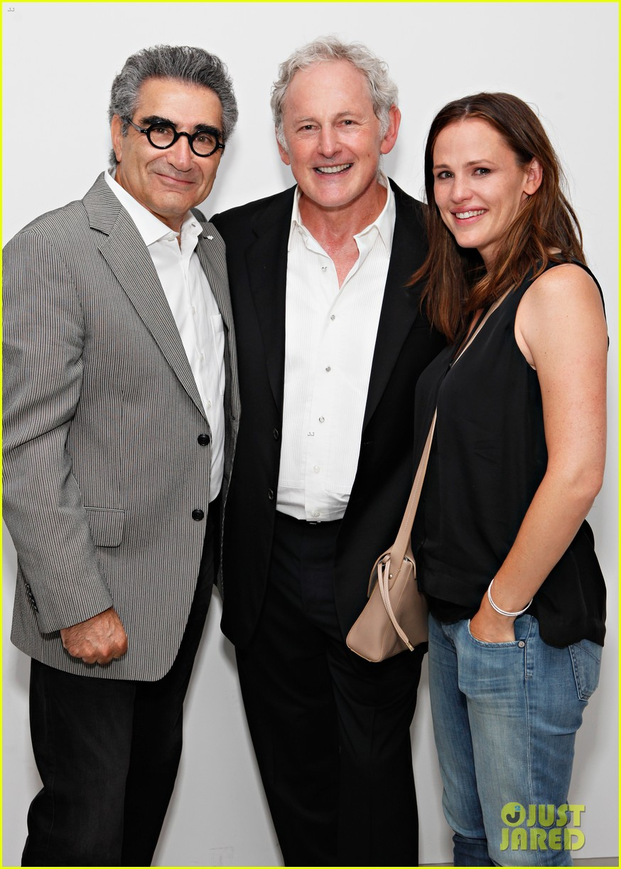 jennifer garner victor garber alias reunion in nyc 212702091