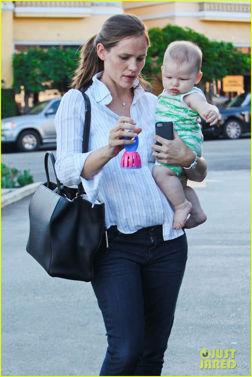 jennifer garner ben affleck ice cream kids 11