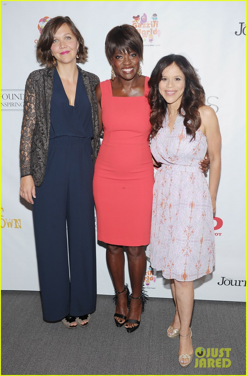 maggie gyllenhaal viola davis wont back down screening 032696985