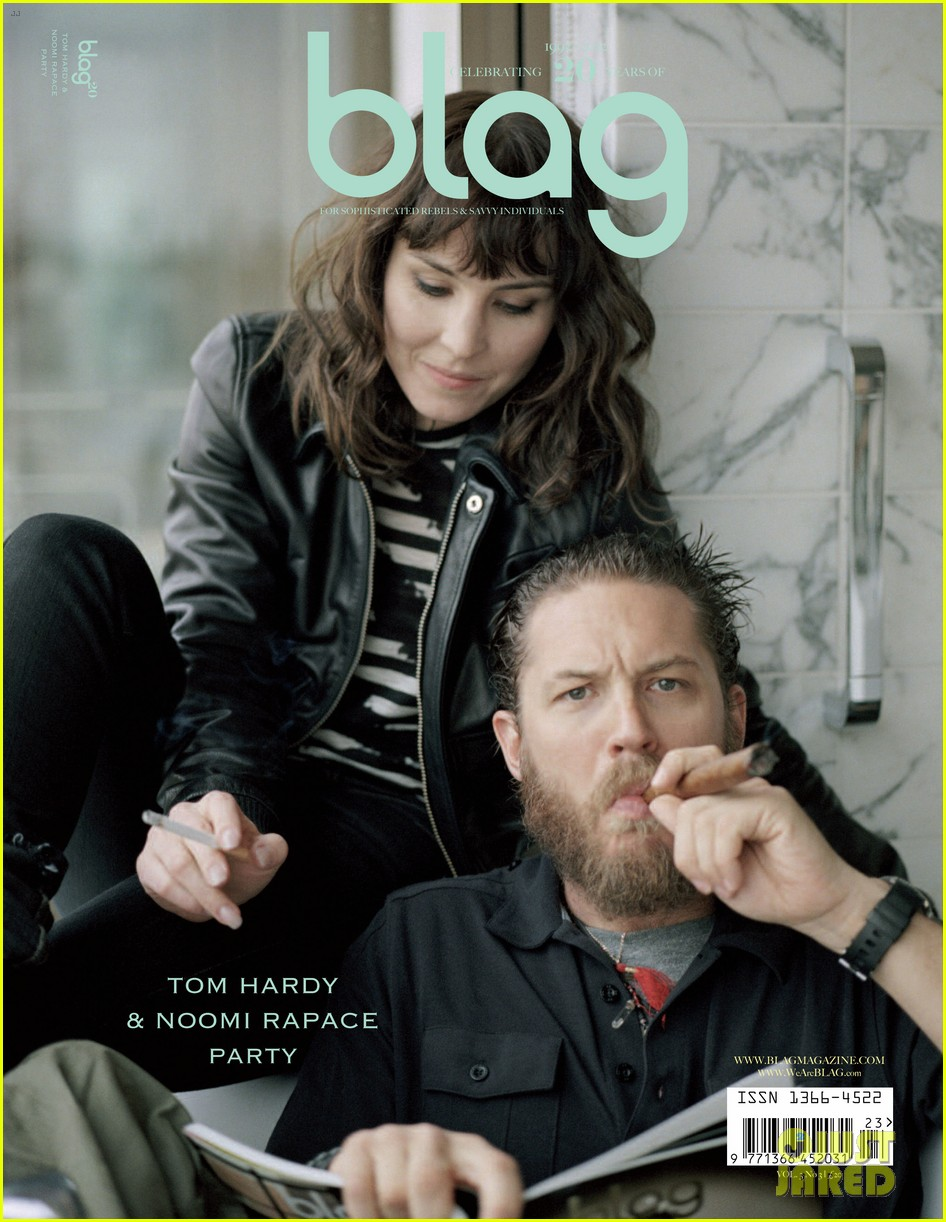 tom hardy noomi rapace cover blag magazine 01