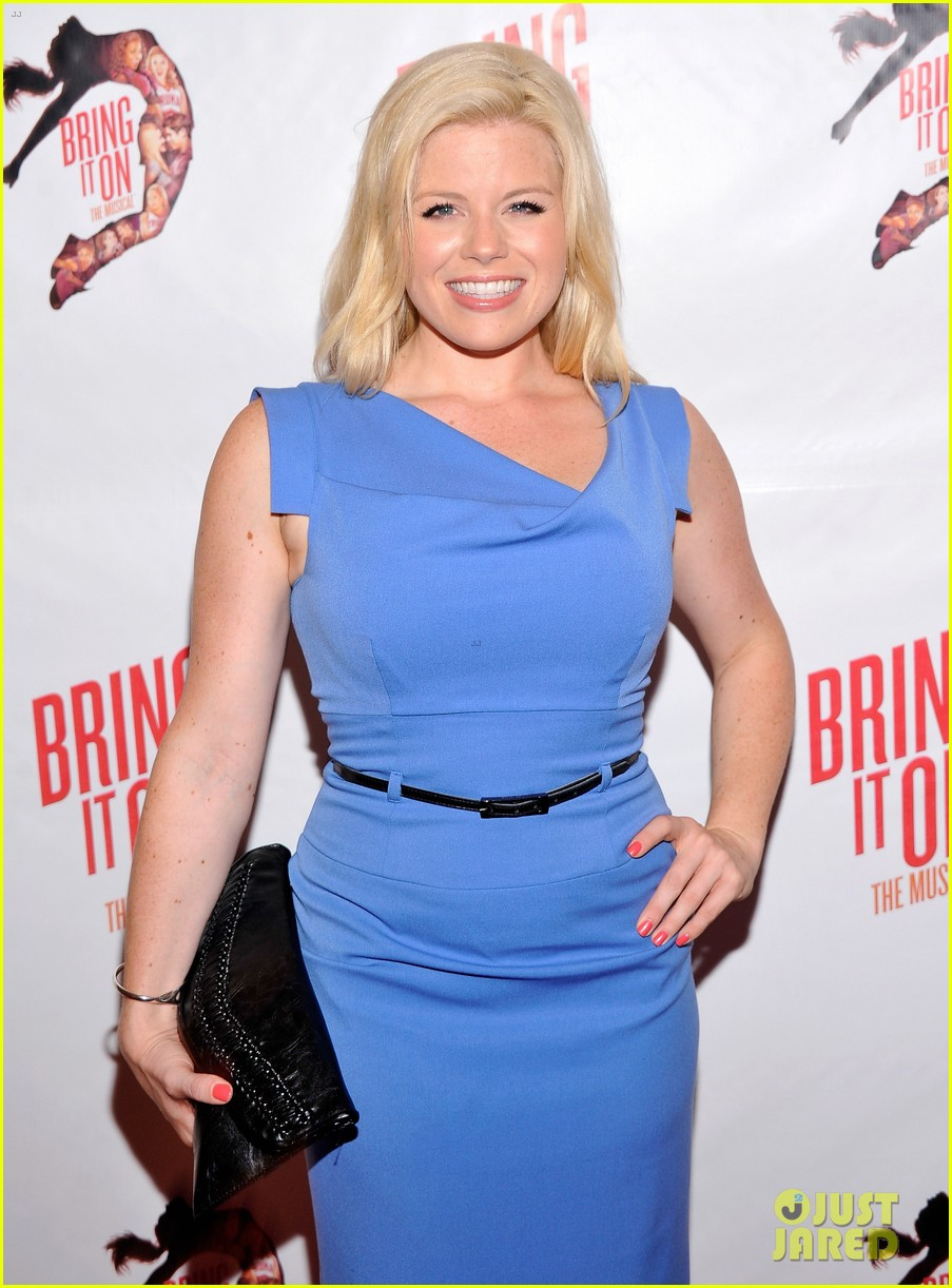 megan hilty krysta rodriguez bring it on opening night 042695666