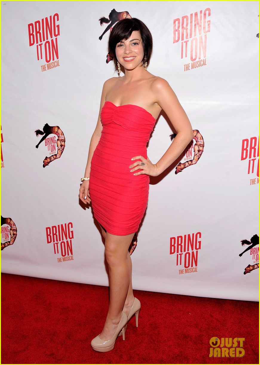 megan hilty krysta rodriguez bring it on opening night 052695667