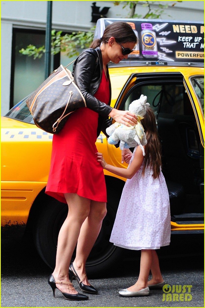 katie holmes suri taxi twosome 16