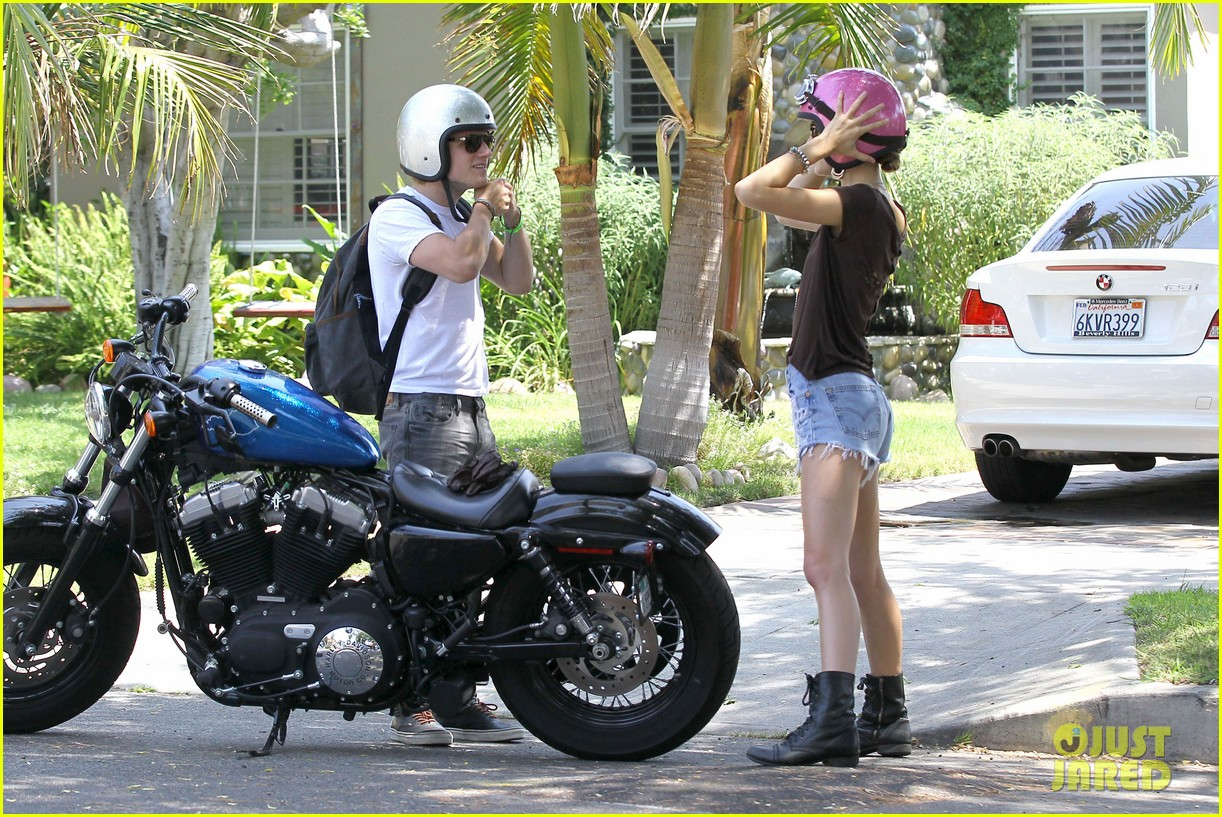 josh hutcherson motorcycle date 19