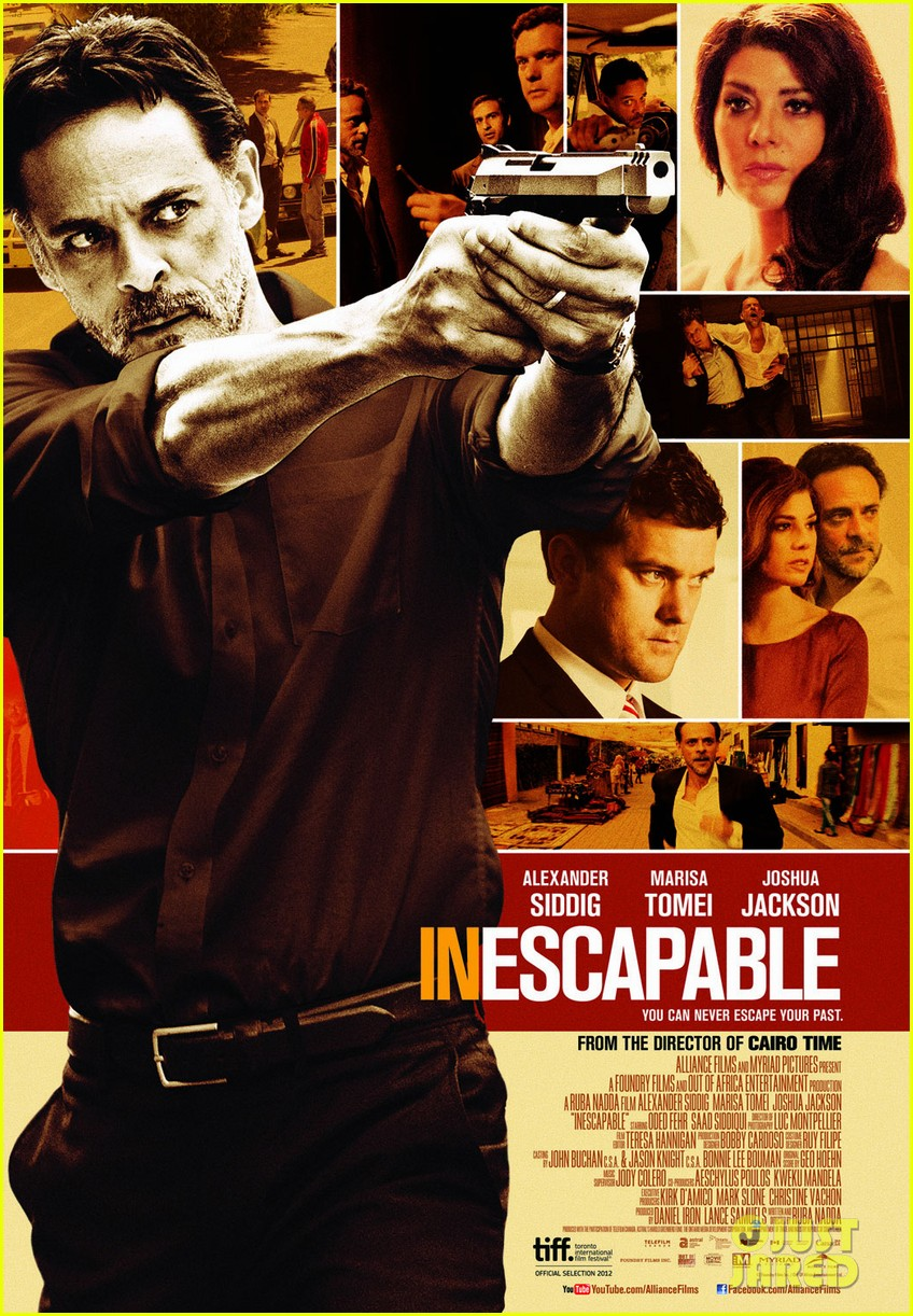 joshua jackson inescapable trailer poster for tiff