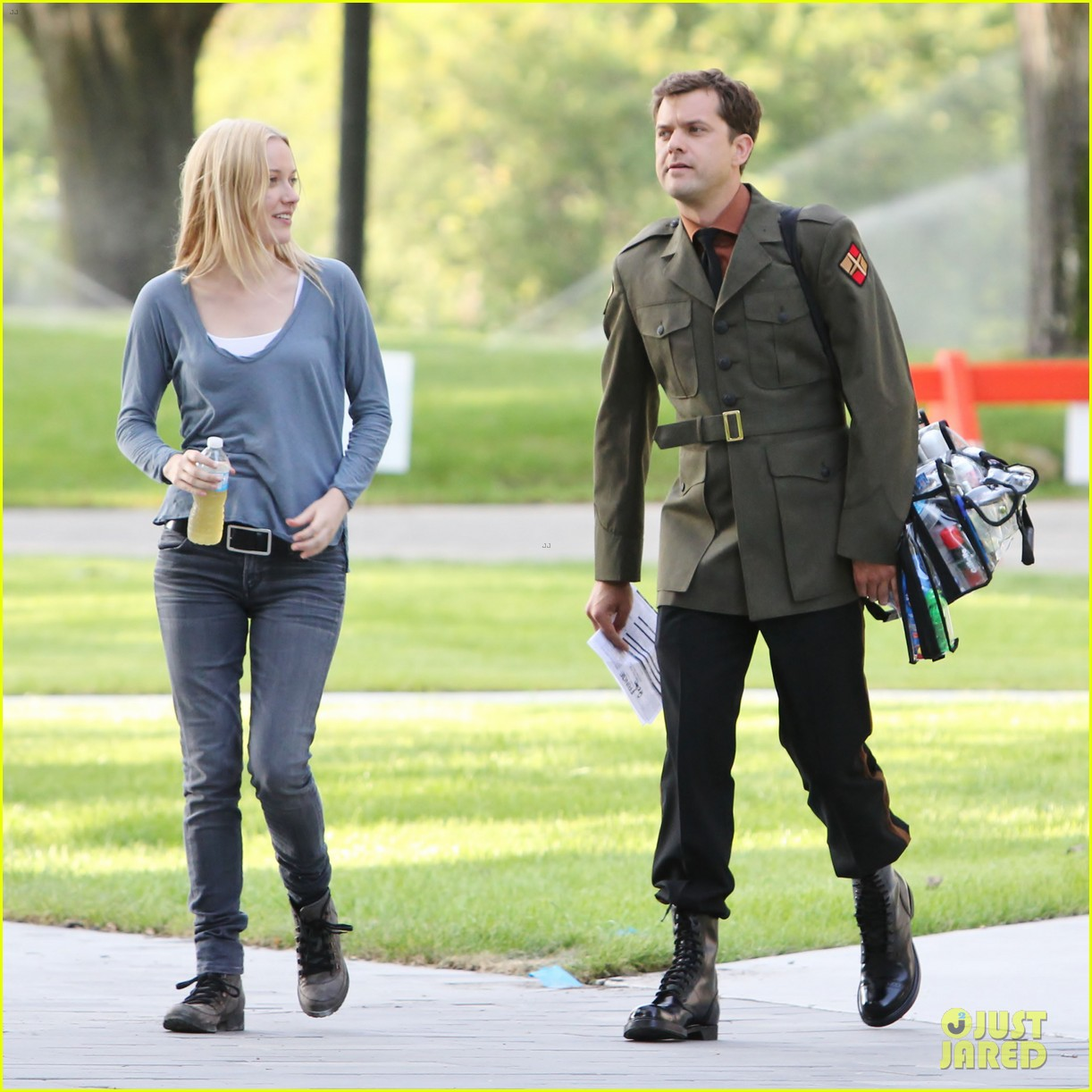 joshua jackson fringe set with georgina haig 072702024